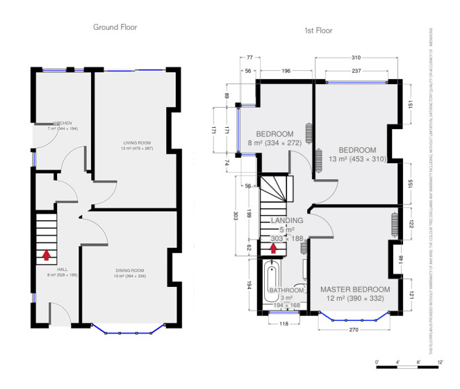 Dorset Property Photographer - Floorplans
